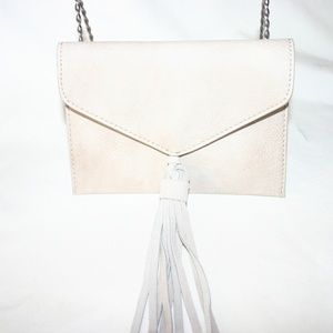 Anthropologie Small Leather Clutch